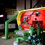 Infeed of Twin Resaw | Rockwell Industries