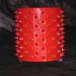 Spiked roll with replaceable spikes
